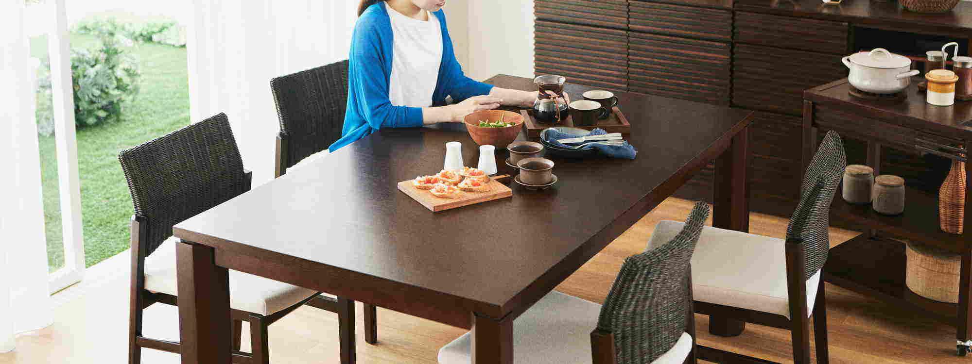 ダイニングテーブル ~アジアン家具~