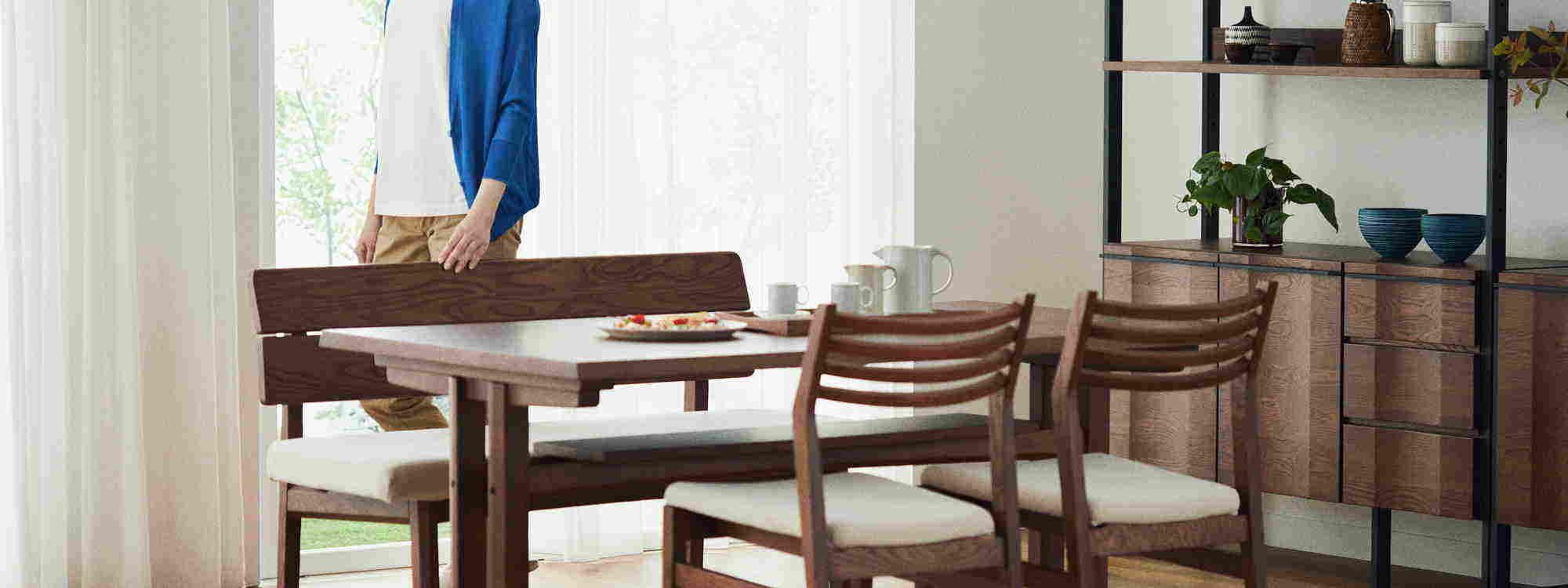 ローダイニングテーブル ~アジアン家具~