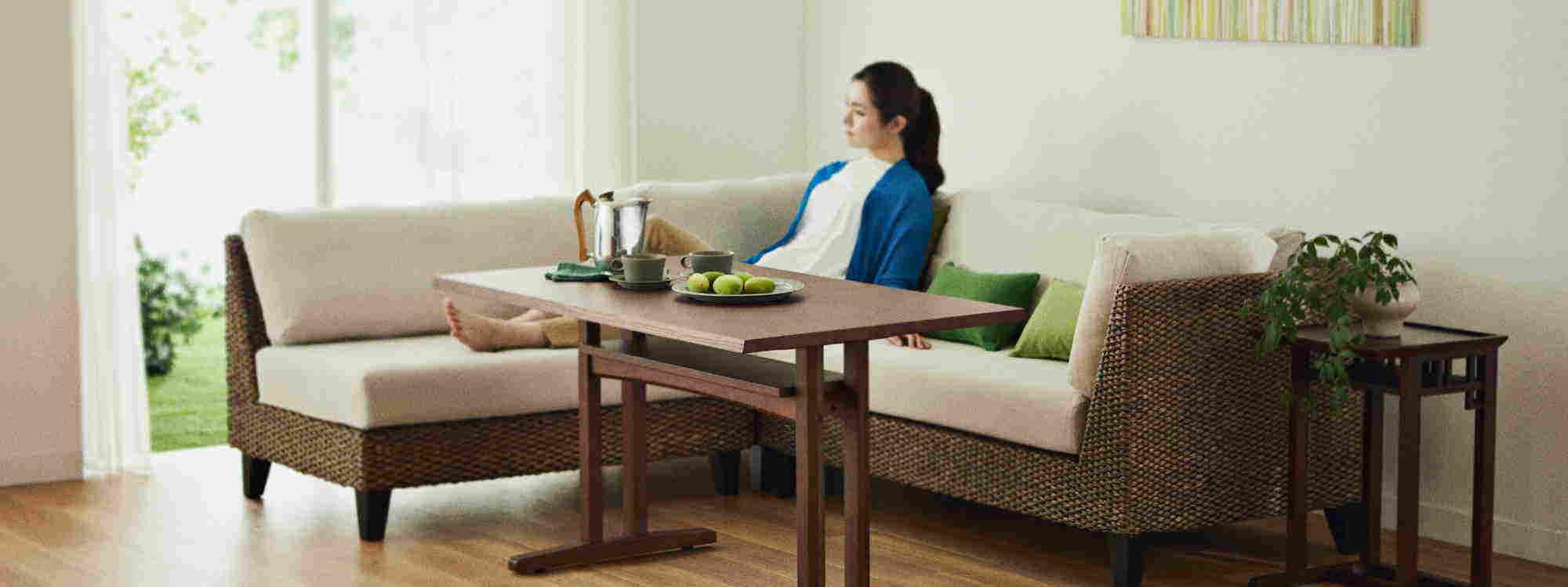 ソファダイニングテーブル ~アジアン家具~