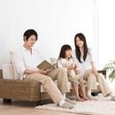家族と共に育つソファ