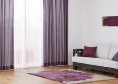 人気のカーテン組み合わせ例