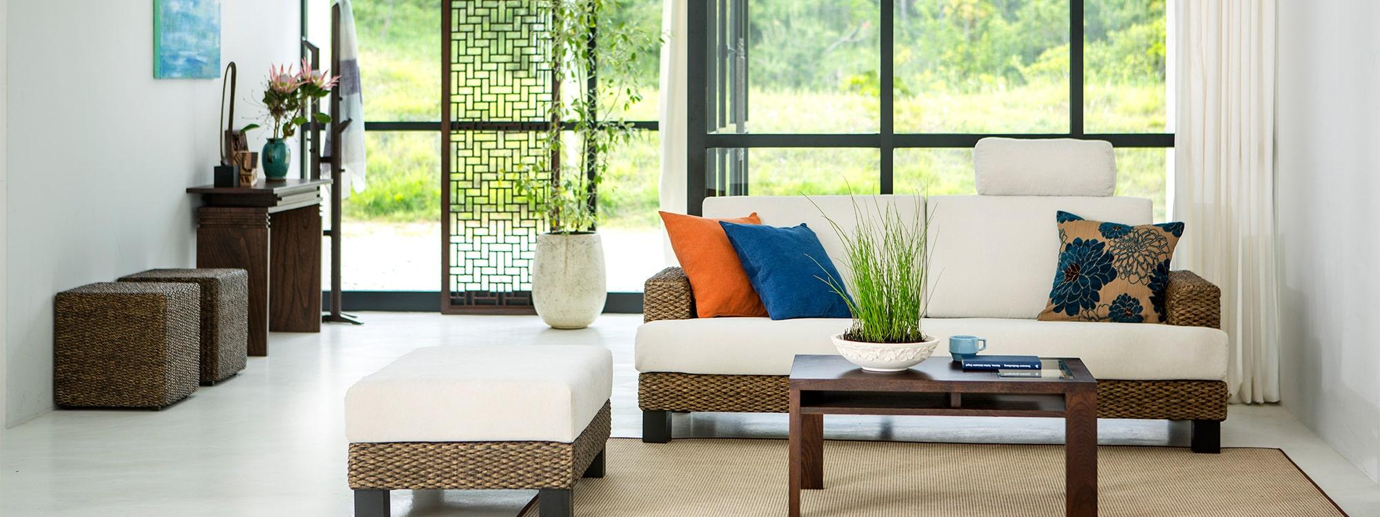 4つのルーム ~アジアン家具~