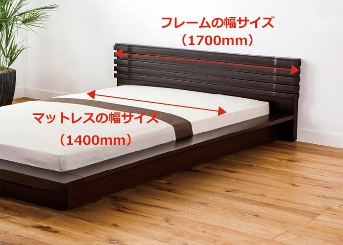 ベッド さ サイズ クイーン 大き
