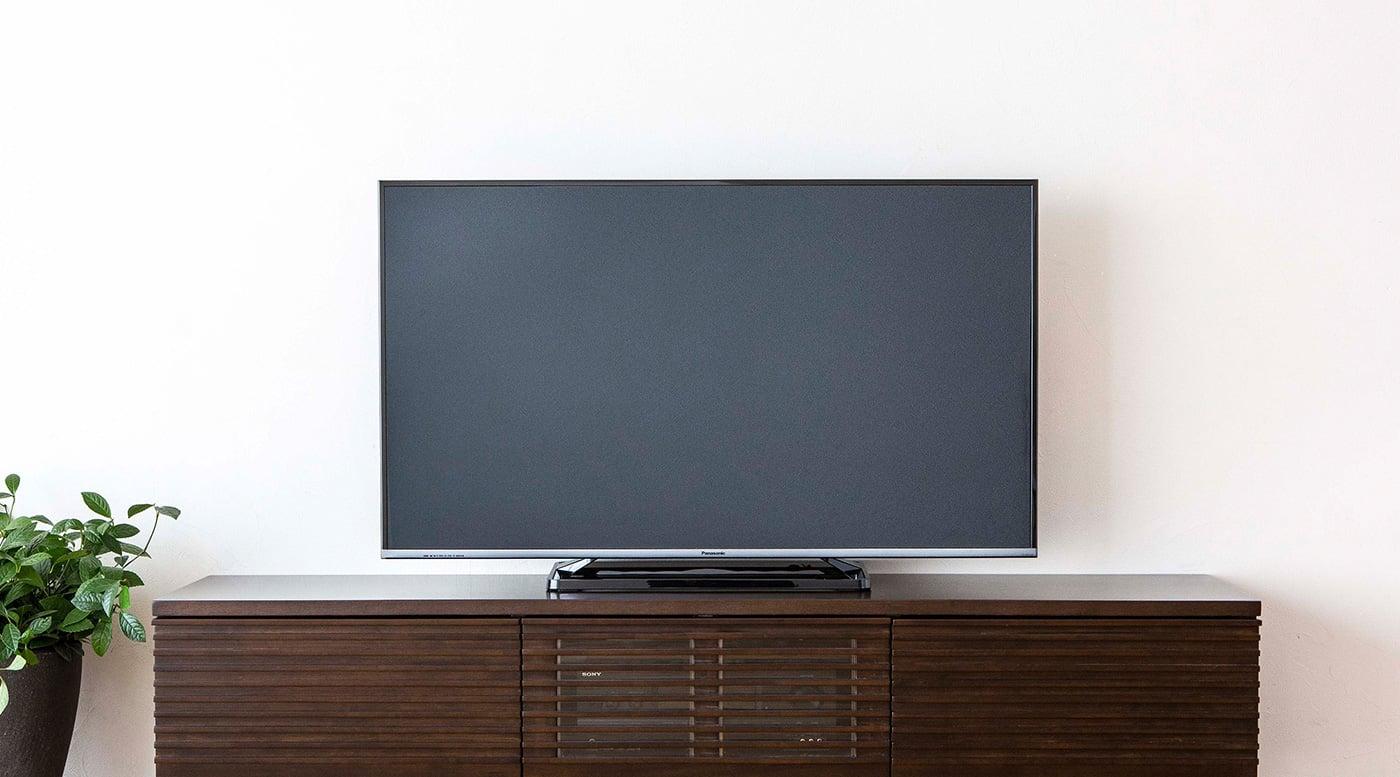 テレビボードとテレビ(32~60インチ)の理想的な幅・サイズバランス | a