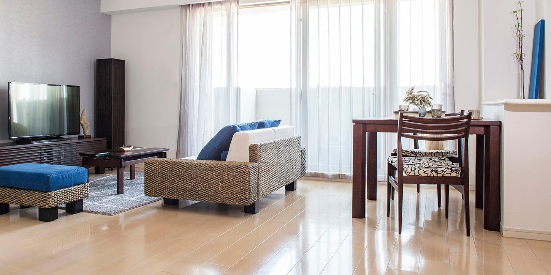 リビングルームの生活動線~人が通れる幅・ソファからテレビまでの距離