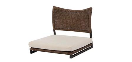 座椅子(ラタン)