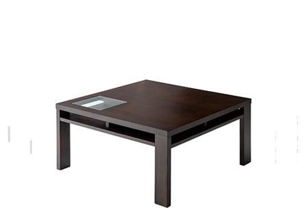 ガラス・ローテーブル800×800