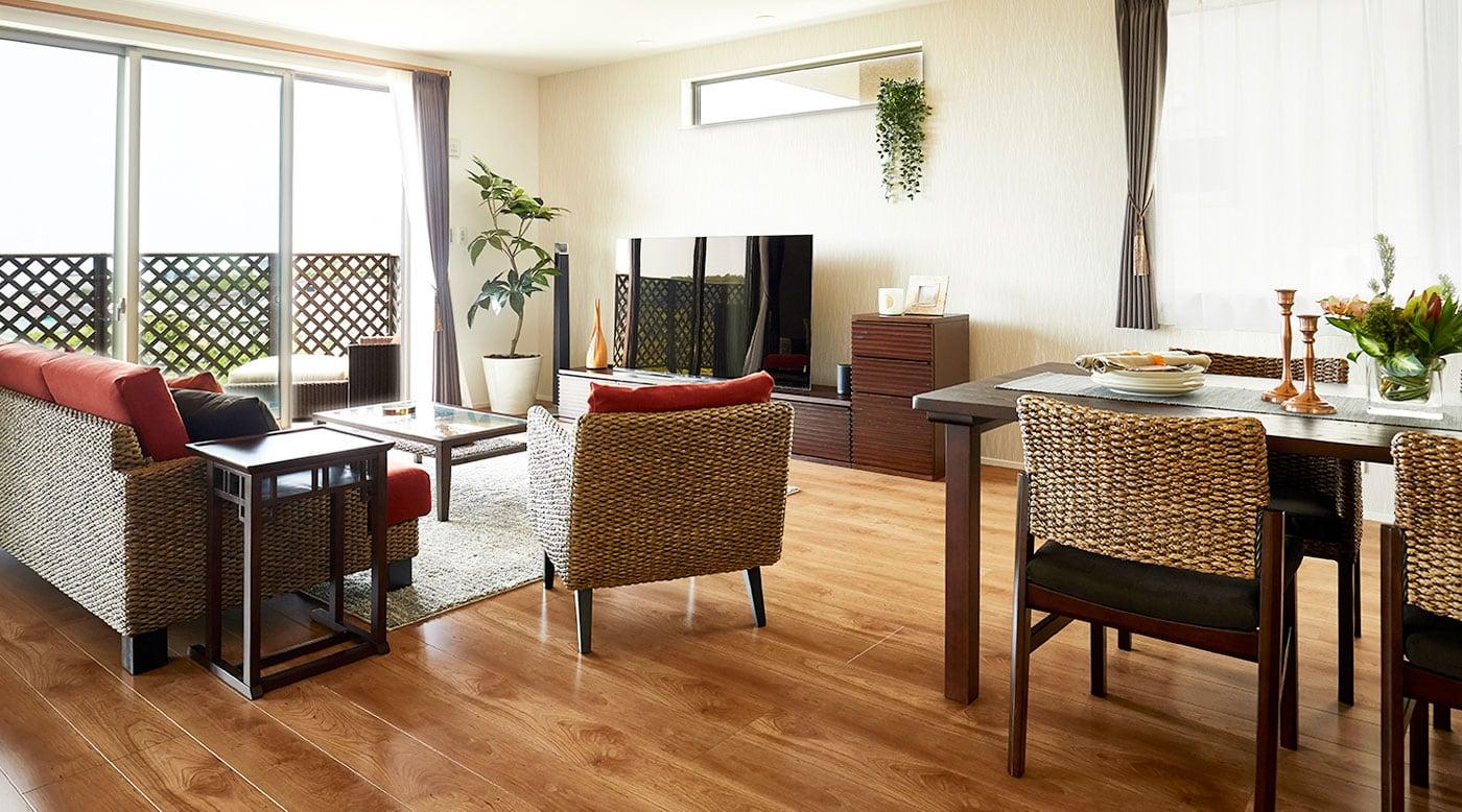 家具のレイアウト例