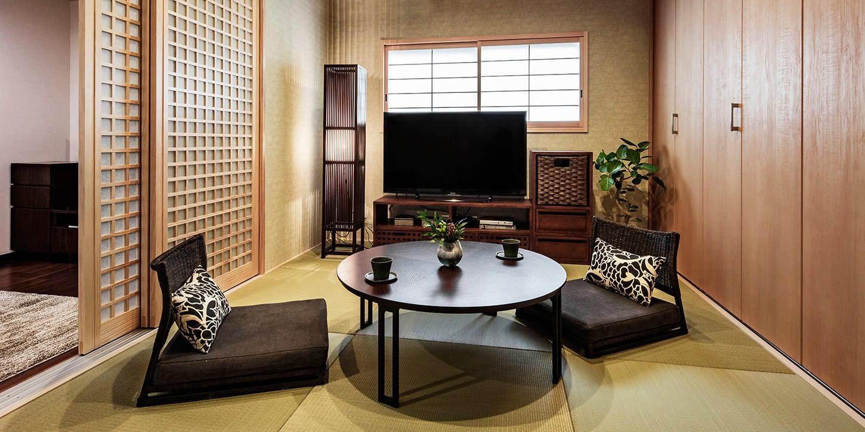 和室、書斎のレイアウト例