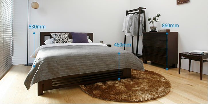 BED ROOM(6~8畳):HIGH STYLE