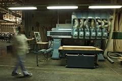 最新鋭の機械加工