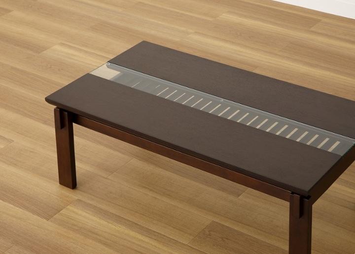 クミ・ガラス・ローテーブル:画像15