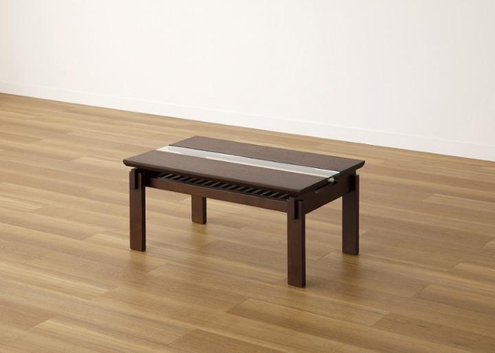 クミ・ガラス・ローテーブル:画像40