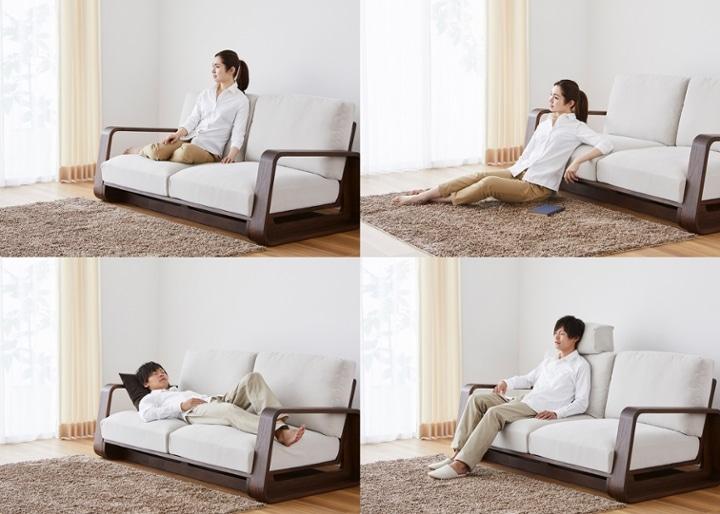 テン・ハイバックソファ v01 カウチセット:画像27