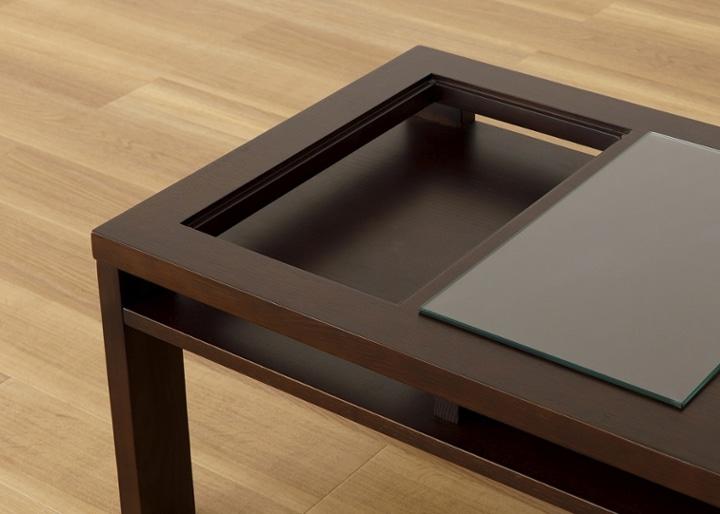 ガラス・ローテーブル:画像17