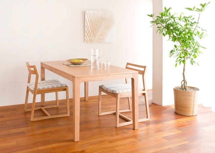 【販売終了】ココ・ダイニングテーブル 1500:画像1