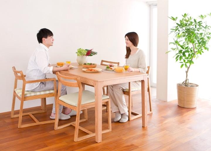 【販売終了】ココ・ダイニングテーブル 1500:画像2