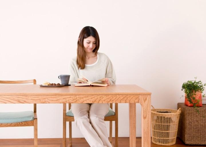 【販売終了】ココ・ダイニングテーブル 1500:画像4