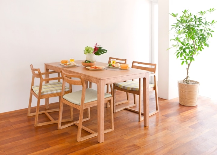 【販売終了】ココ・ダイニングテーブル 1500:画像7
