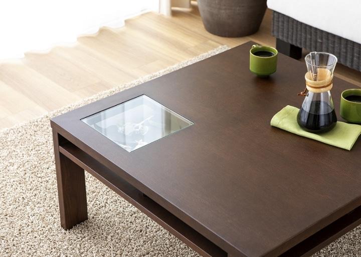 ガラス・ローテーブル 800×800:画像12