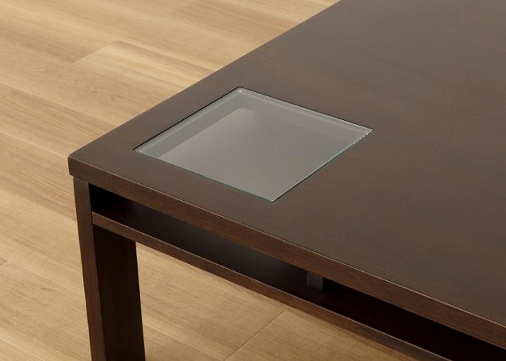 ガラス・ローテーブル 800×800:画像16