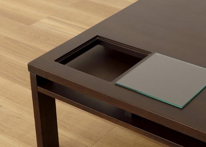 ガラス・ローテーブル 800×800:画像17