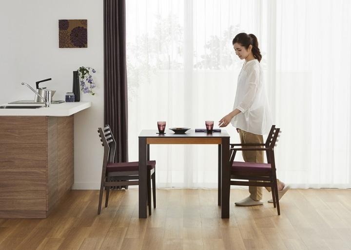 バンブー・ダイニングテーブルv02 800:画像14