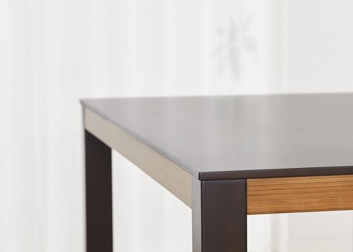 バンブー・ダイニングテーブルv02 1400:画像16