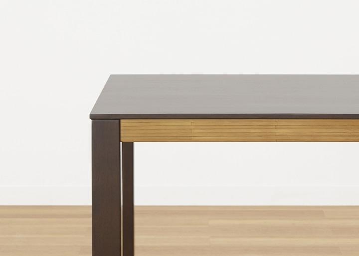 バンブー・ダイニングテーブルv02 1400:画像18