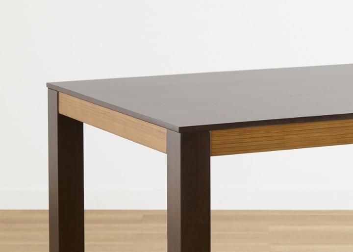 バンブー・ダイニングテーブルv02 1400:画像19
