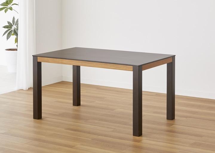 バンブー・ダイニングテーブルv02 1400:画像7