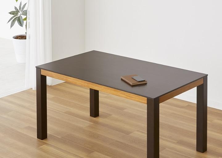 バンブー・ダイニングテーブルv02 1400:画像9