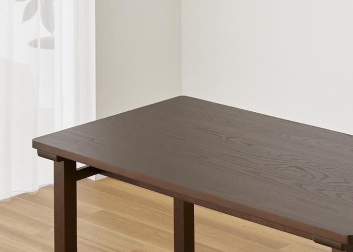 ムク・ダイニングテーブル 1450:画像16