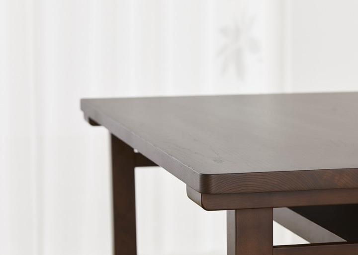 ムク・ダイニングテーブル 1450:画像17