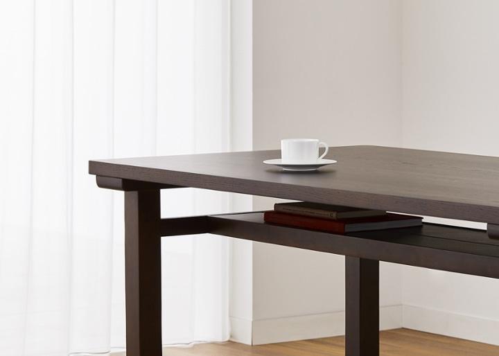 ムク・ダイニングテーブル 1450:画像19