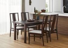 ムク・ダイニングテーブル 1450 セット 椅子4脚