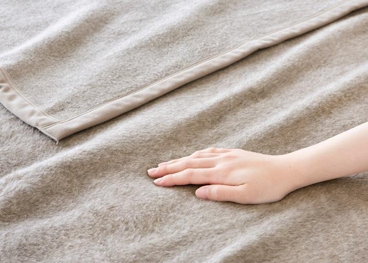カシミヤ毛布:画像3