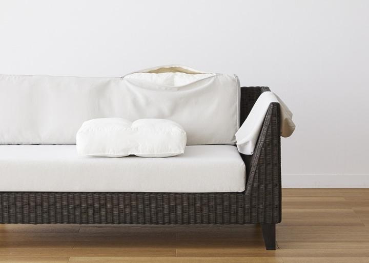 ラン・コンパクトソファ v01 セット (ラタン):画像29