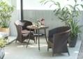 ガーデン・ラウンジチェア用座面クッション:画像2
