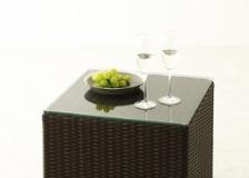 ガーデン・テーブル&スツールv01用天板ガラス