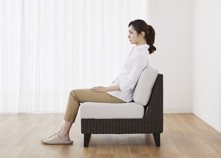 ラン・コンパクトソファ v05 コーナーセット (ラタン):画像37