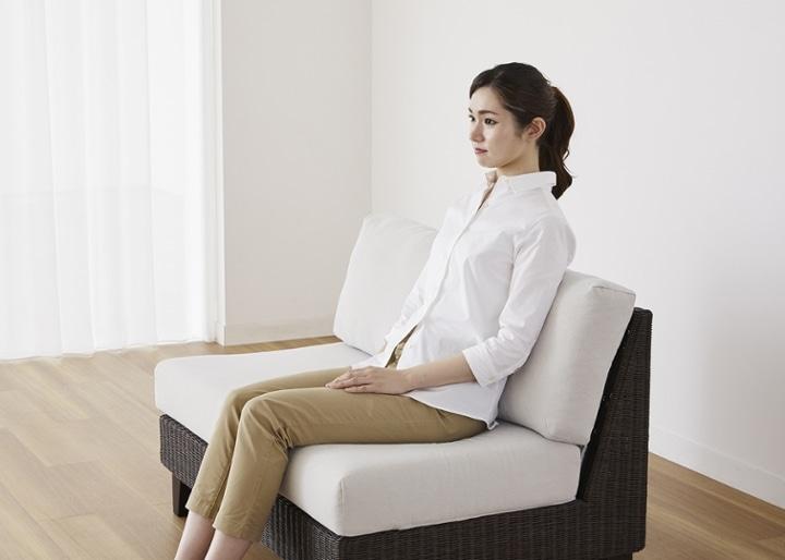 ラン・コンパクトソファ 2P片アーム (ラタン):画像26