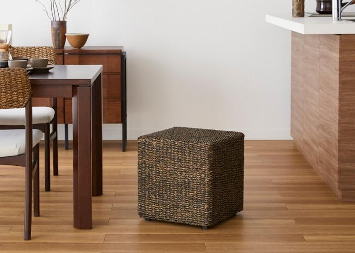 キューブ・スツール&テーブル (ヒヤシンス):画像1