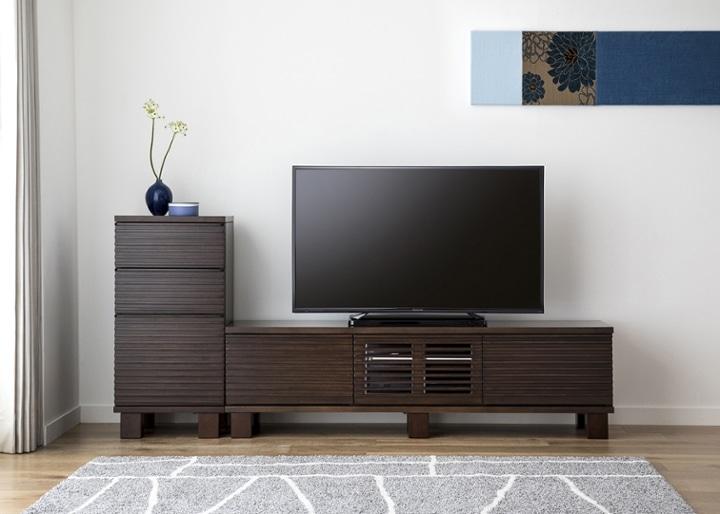 ルーバー・テレビボードv02 H v01 セット:画像1