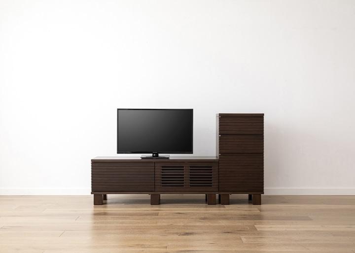 ルーバー・テレビボードv02 H v01 セット:画像11