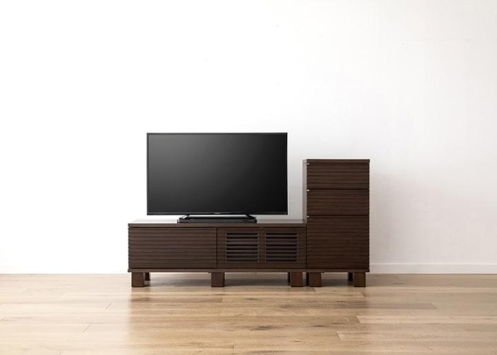 ルーバー・テレビボードv02 H v01 セット:画像12