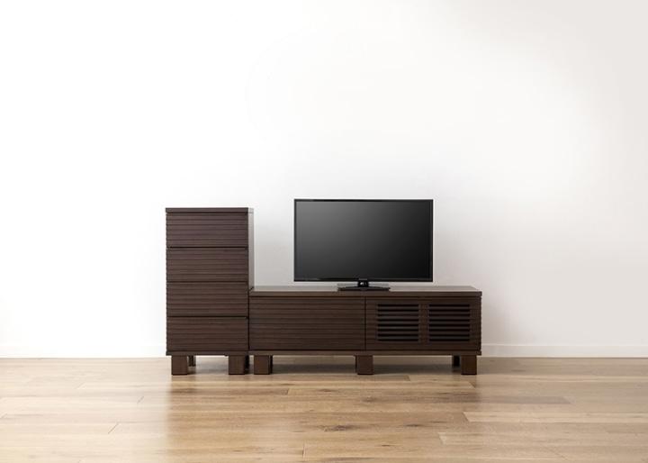 ルーバー・テレビボードv02 H v01 セット:画像13