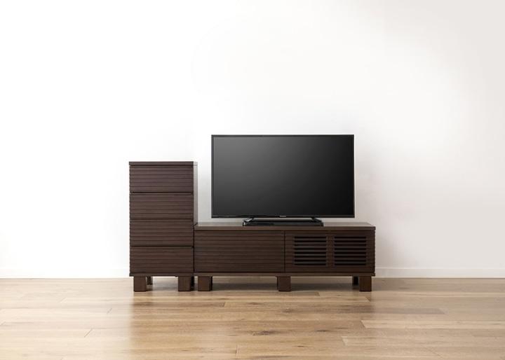 ルーバー・テレビボードv02 H v01 セット:画像14