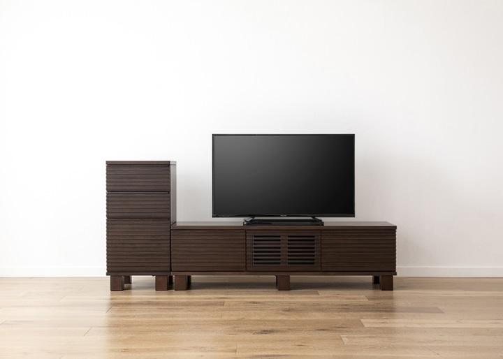 ルーバー・テレビボードv02 H v01 セット:画像15