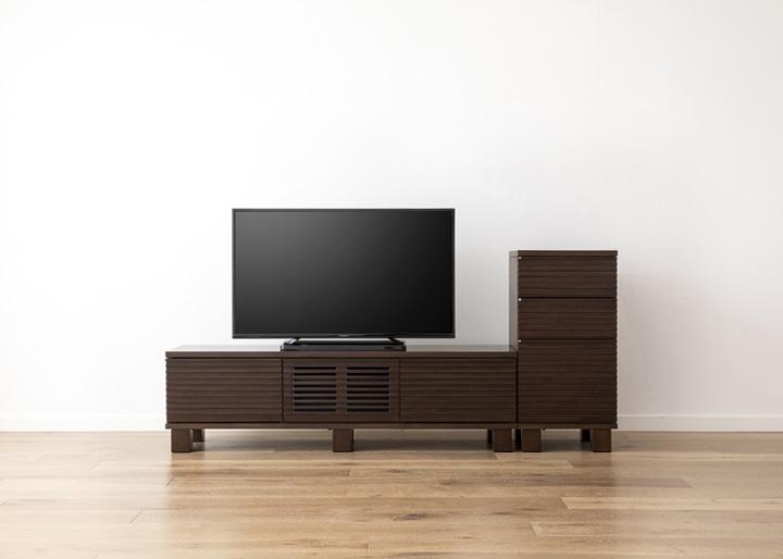 ルーバー・テレビボードv02 H v01 セット:画像16
